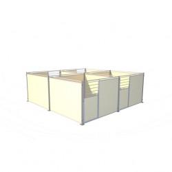 Dos à Dos Demobache bloc 4 boxes