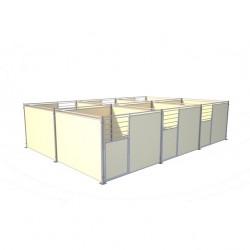 Dos à Dos Demobache bloc 6 boxes