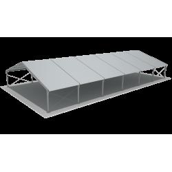 Couv. simple 15x30 m